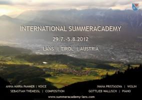 Summer Academy Tirol 2012