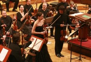 Agata Szymczewska, Jurij Baszmet i Soliści Moskwy