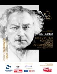 """Symfonia h-moll """"Polonia"""" Ignacego Jana Paderewskiego w 25. rocznicę wolnych wyborów"""