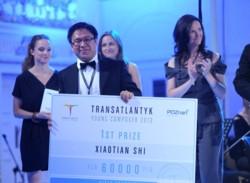Transatlantyk 2013 - laureat I nagrody, Xiaotian Shi
