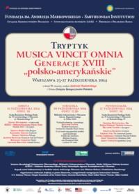 Musica Vincit Omnia – Generacje XVIII polsko-amerykańskie