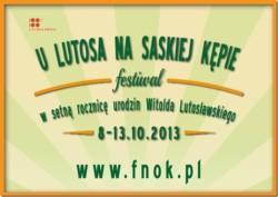 """Festiwal """"U Lutosa na Saskiej Kępie"""""""