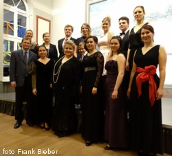 Akademia Sztuki kolędowo w Brüssow i Ueckermünde