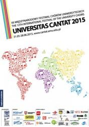 """XII Międzynarodowy Festiwal Chórów Uniwersyteckich """"Universitas Cantat 2015"""""""