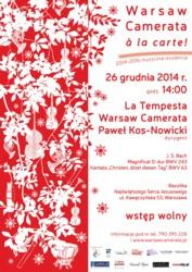 Warsaw Camerata a la carte! - finał