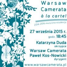 Warsaw Camerata à la carte!