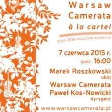 Duńska i polska muzyka na Warsaw Camerata à la carte!