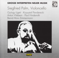 - Grosse Interpreten Neuer Musik. Siegfried Palm, Violoncello