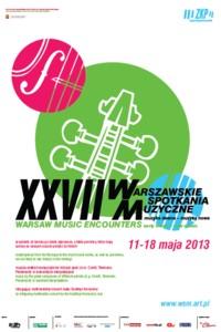 Warszawskie Spotkania Muzyczne 2013