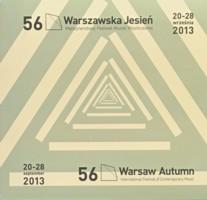 Warszawska Jesień 2013 na płytach