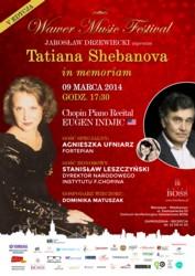 Tatiana Shebanova in memoriam