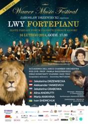 Lwy Fortepianu – Złote Parnasy Forum Pianistycznego w Sanoku
