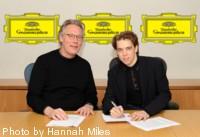 Ingolf Wunder podpisuje kontrakt z Deutsche Grammophon