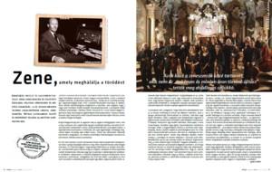 broszura programowa koncertu orkiestry Leopoldinum podczas festiwalu Szinhaz (26.01.2013)