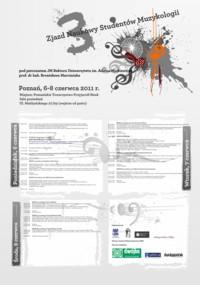 3. Zjazd Studentów Muzykologii 2011