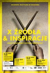 """Międzynarodowy Festiwal Perkusyjny """"Źródła i Inspiracje"""" 2014"""