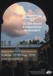 Dni Muzyki Kompozytorów Krakowskich 2010