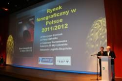 Rynek fonograficzny w Polsce 2011/2012 - prezentacja raportu