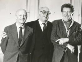 Witold Lutosławski, Mścisław Rostropowicz i Henri Dutilleux