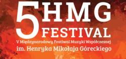 Międzynarodowy Festiwal Muzyki Współczesnej im. Henryka Mikołaja Góreckiego 2015