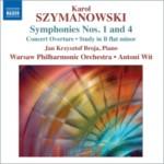 Karol Szymanowski - I i IV Symfonia (Naxos)