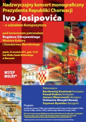 Koncert Prezydenta Republiki Chorwacji