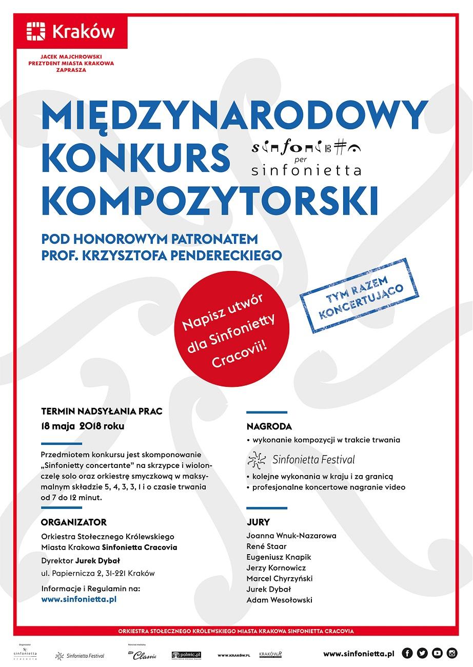 4th Sinfonietta Per Sinfonietta Composition Competition: Awards